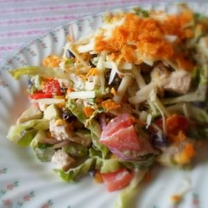 A Lighter Chicken Taco Salad