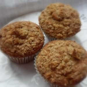 *Pear Ginger Streusel Muffins*