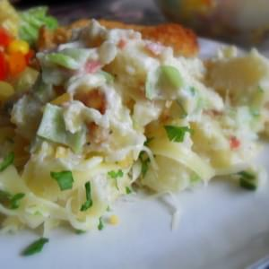 Baked Potato Salad (The Lightened Up Version)