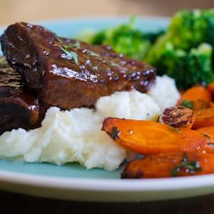 Easy Slow-Baked BBQ Short Ribs