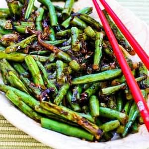 World's Easiest Garlicky Green Beans Stir Fry