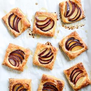 Yeasted Plum Tart Recipe