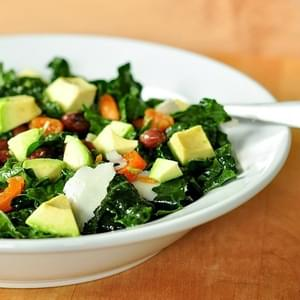 Raw Kale Salad with Pecorino (or Parmesan) and Lemon Recipe