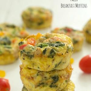Paleo Breakfast Muffins (Whole 30 Approved)