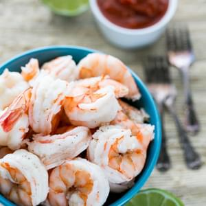 Quick and Easy Boiled Shrimp