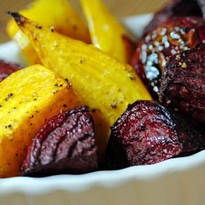 Paleo Roasted Golden & Red Beets