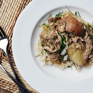 Slow Cooker Coconut & Green Curry Pork