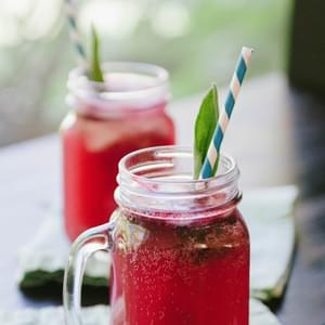Blackberry & Sage Spritzers