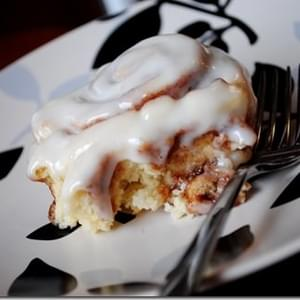 No Yeast Required Cinnamon Rolls