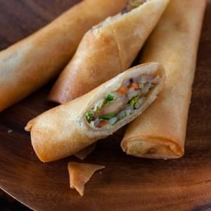Vegetable Egg Rolls