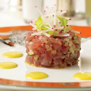 Curried Tuna Tartare