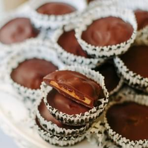 Pumpkin Spiced Peanut Butter Cups