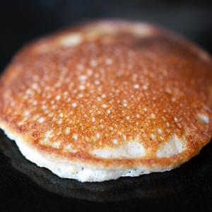 Cinnamon and Coconut Pancakes