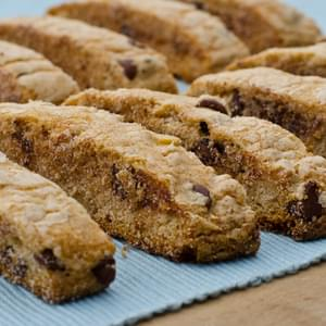 Grandma Annie's Chocolate Chip Mandel Bread