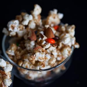 Spicy Gooey M&M'S & Almond Popcorn