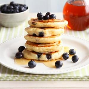 Blueberry and Lemon Pancakes