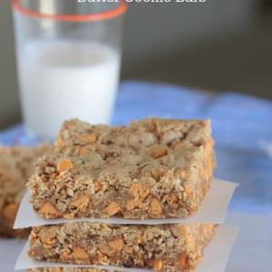 Butterscotch Oatmeal Brown Butter Cookie Bars