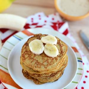 3-Ingredient Peanut Butter Pancakes