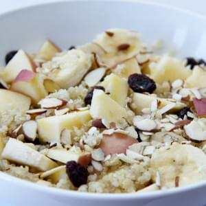 Apple Quinoa Breakfast Bowl