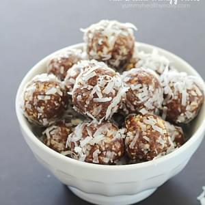 No-Bake Nut & Date Energy Balls