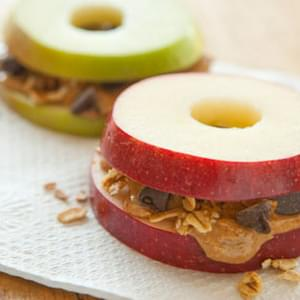 Kid-friendly Apple Sandwiches
