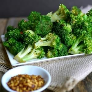 5-Minute Spicy Lemon Broccoli