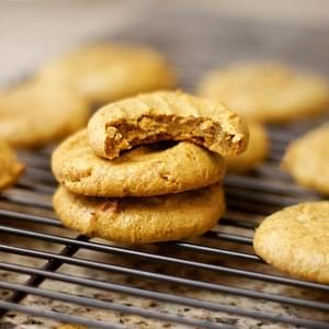 Pumpkin Pie Cookies (Vegan, Grain-Free)
