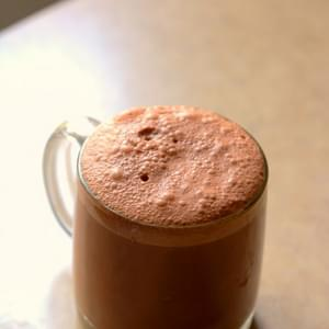 ALMOND MILK MOCHA DRINK [RECIPE]