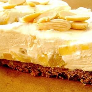 Creamy Pineapple Cheesecake
