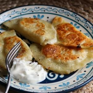 Small Batch Potato & Cheese Pierogi