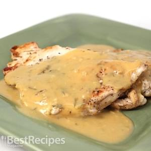 Chicken with Dijon Mustard Sauce