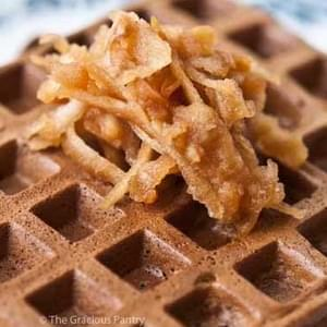Clean Eating Protein Powder Waffles