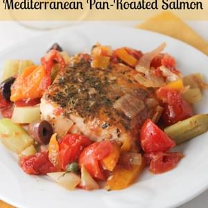 Mediterranean Pan-Roasted Salmon