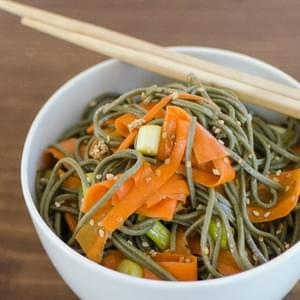 Soba, Sesame and Carrot Salad