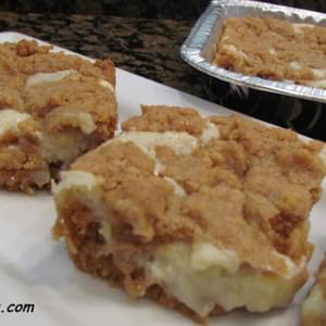 Oatmeal Cookie and Cream Cheese Bars