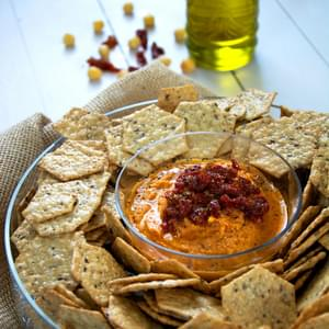 Sun Dried Tomato & Roasted Garlic Hummus