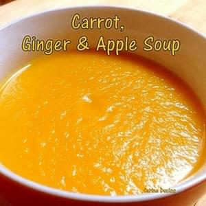Carrot, Ginger & Apple Soup