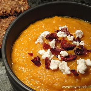 Roasted Carrot Soup For The Soul