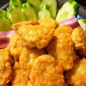 Tori No Kara-age (Japanese Deep Fried Chicken Nuggets) recipe – 110 calories