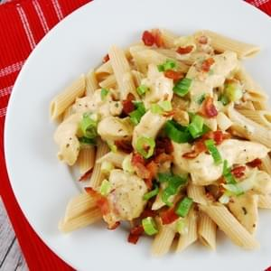 Chicken Bacon Ranch Pasta