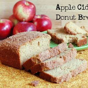Apple Cider Bread (Cider Donut Bread)