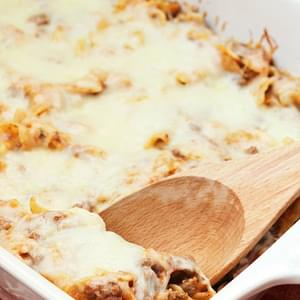 Mom's Pizza Casserole