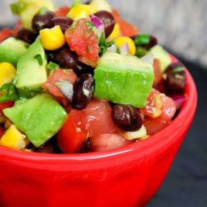Avocado Black Bean & Corn Salsa