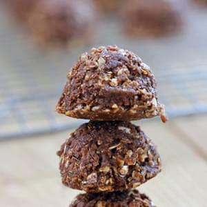 Mexican Chocolate No-Bake Cookies