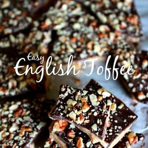 Easy English Toffee