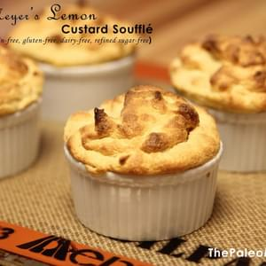 Meyer's Lemon Custard Soufflé (Nut-Free)