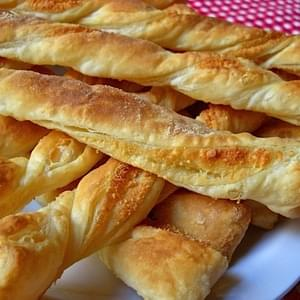 Parmesan Garlic Twists