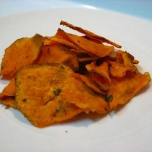 Oven Fried Sweet Potatoes