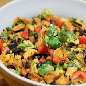 Grilled Sweet Potato Salad with Green Onion, Basil, Thyme ...