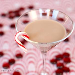 Chocolate Candy Cane Martinis